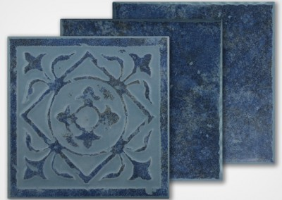 TH-645 DECO – STONE BLUE 6X6