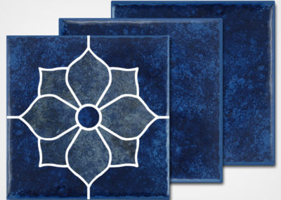 TH-919 DECO – GLOSS BLUE 6X6 CUT