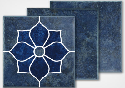 TH-945 DECO – STONE BLUE 6X6 CUT
