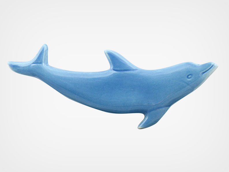 Dolphin Up – Blue – 5×2