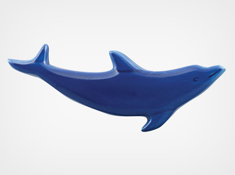 Dolphin Up – Royal Blue – 5×2