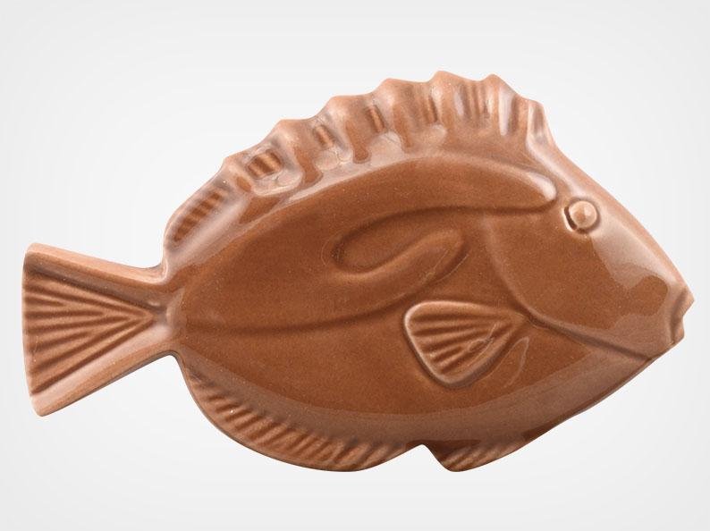 Fish – Brown – 5×3