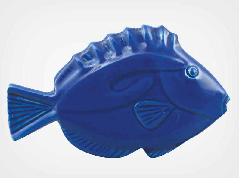 Fish – Royal Blue – 5×3