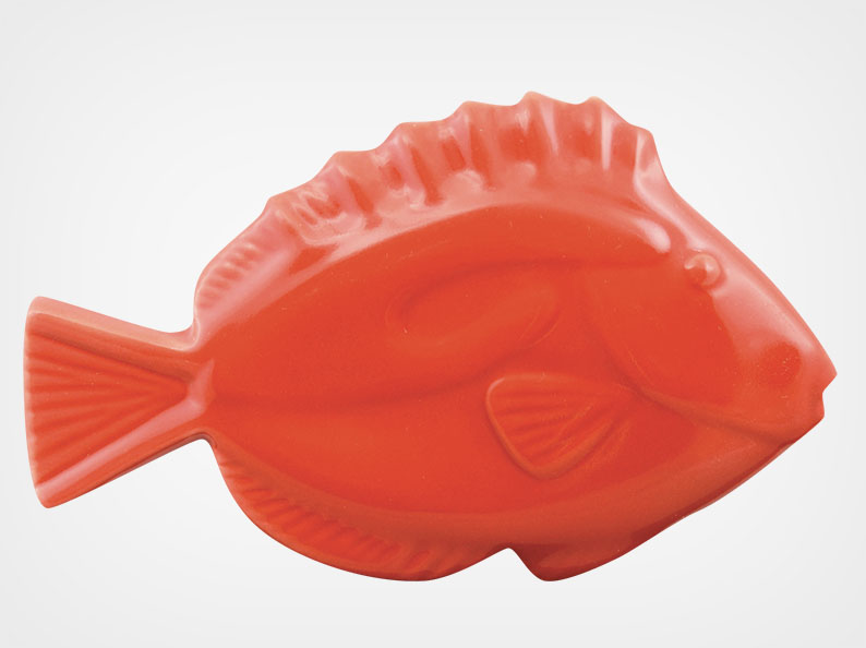 Fish – Red – 5×3