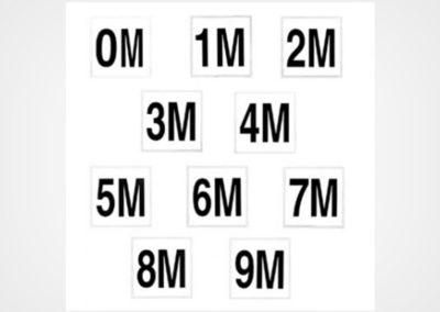 Metric Numbers Meters