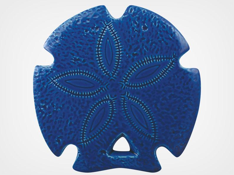 Sand Dollar – Royal Blue – 5×5
