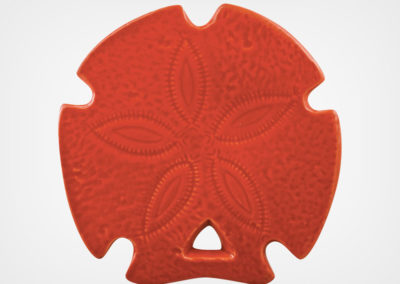 Sand Dollar – Red – 5×5