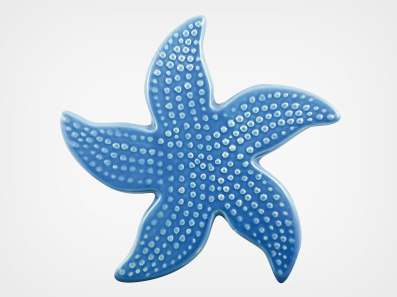 Starfish Spotted – Blue – 5×5