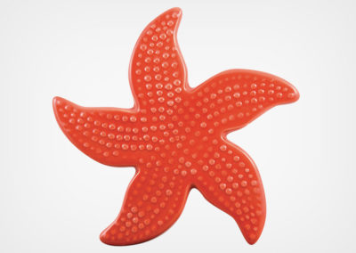 Starfish Spotted – Red – 5×5