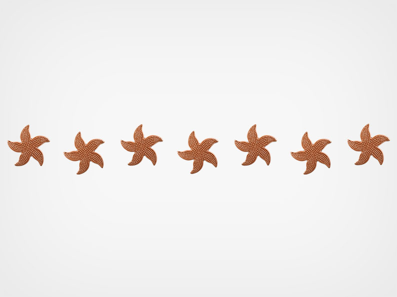 Spotted Starfish – Step Markers – Brown – 24×3