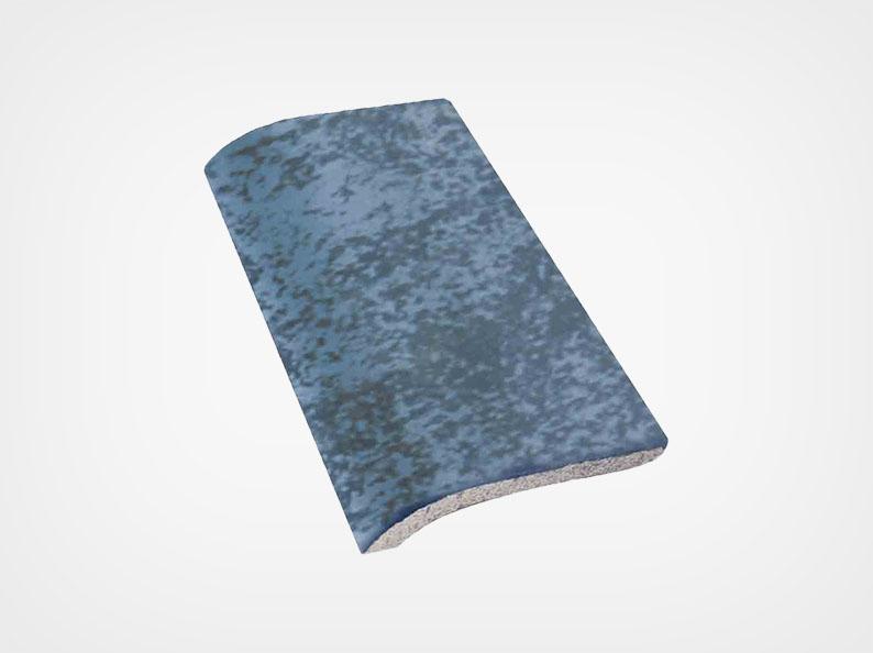 Stone Blue Matte Trim