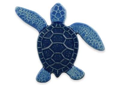 Turtle Left Up- Blue – 5×5