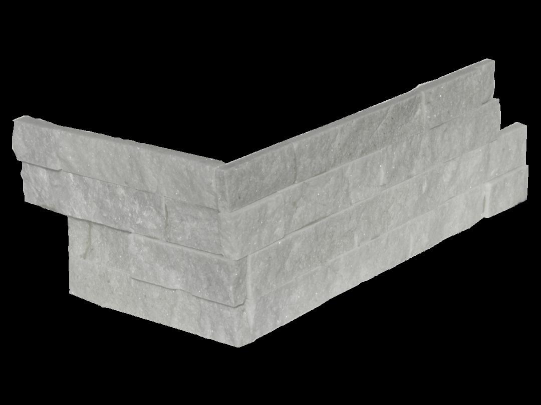 Arctic White Corner