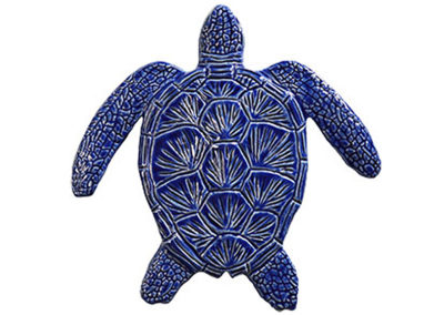 Loggerhead Turtle Blue – 6″ x 6″