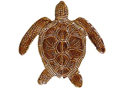 Loggerhead Turtle Brown – 6″ x 6″