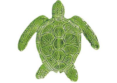Loggerhead Turtle Green – 6″ x 6″