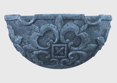 Gothic Sconce-Blue
